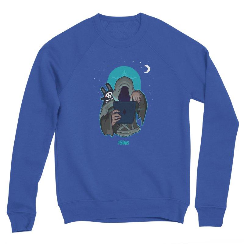 Grim Reaper - Teal Men's Sponge Fleece Sweatshirt by The Sims Official Threadless Store