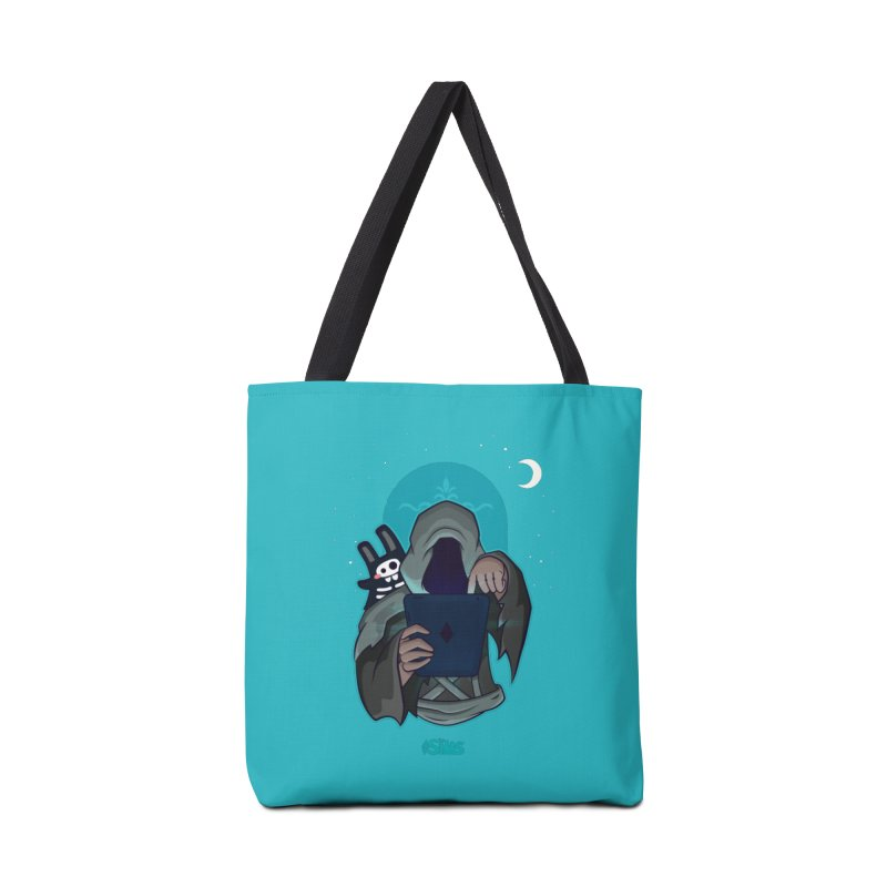 Grim Reaper - Teal Accessories Tote Bag Bag by The Sims Official Threadless Store