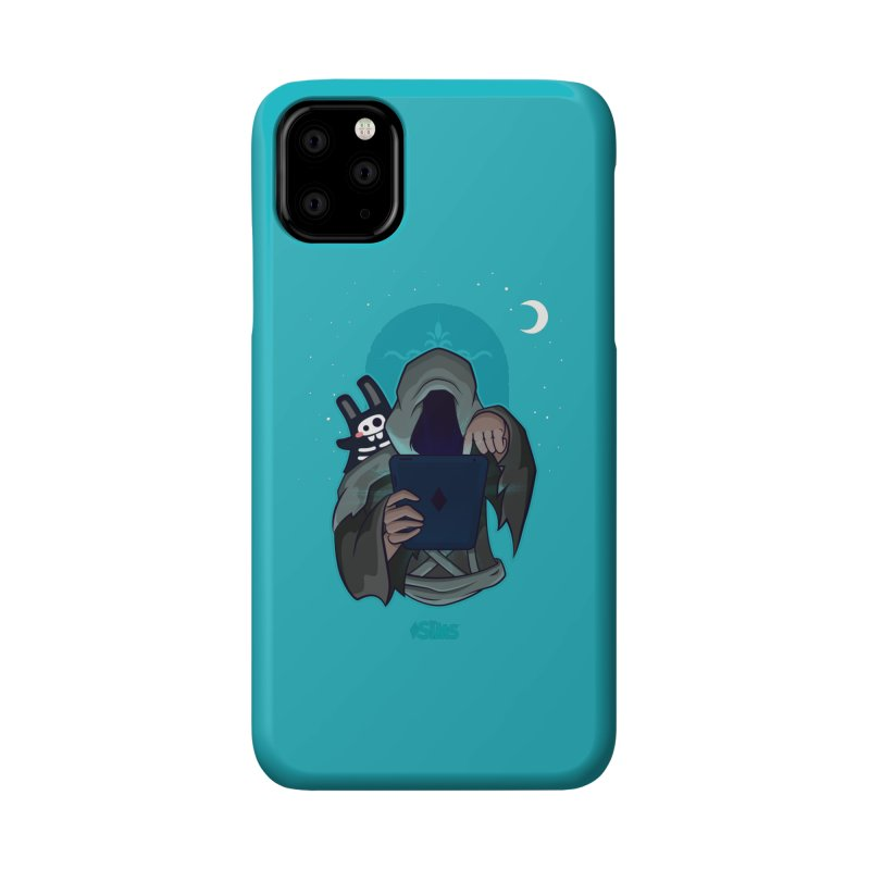 Grim Reaper - Teal Accessories Phone Case by The Sims Official Threadless Store