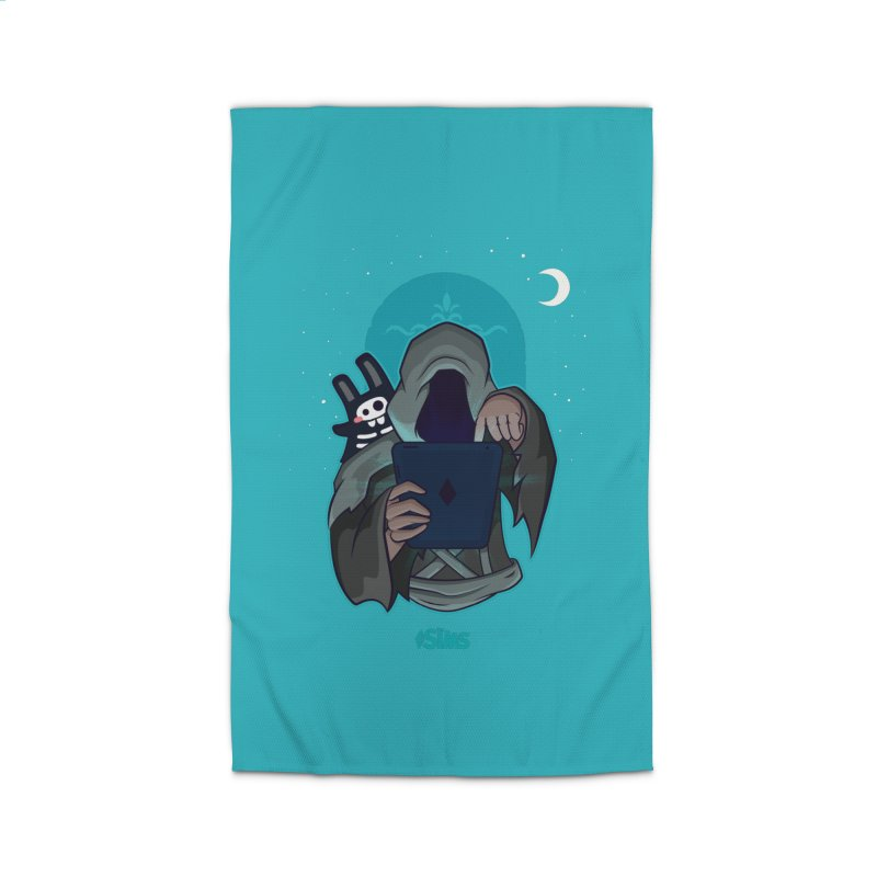Grim Reaper - Teal Home Rug by The Sims Official Threadless Store