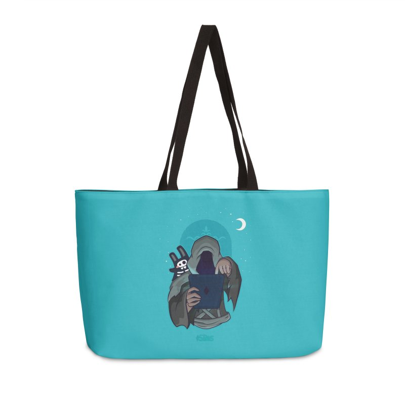 Grim Reaper - Teal Accessories Weekender Bag Bag by The Sims Official Threadless Store