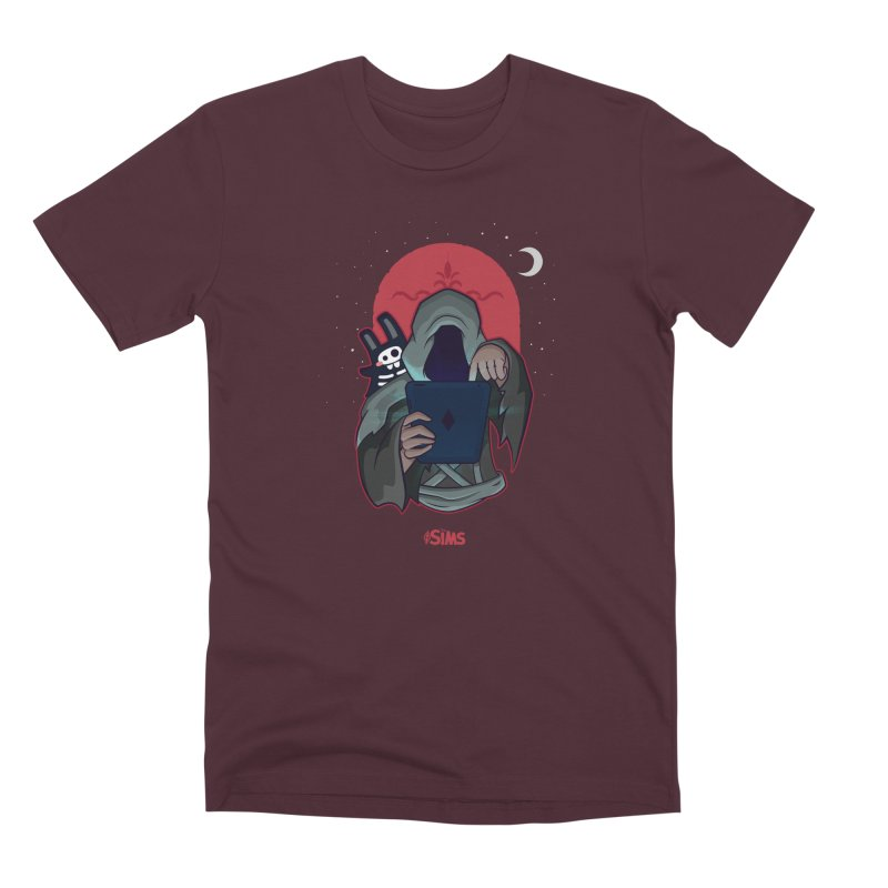 Grim Reaper - Red Men's Premium T-Shirt by The Sims Official Threadless Store