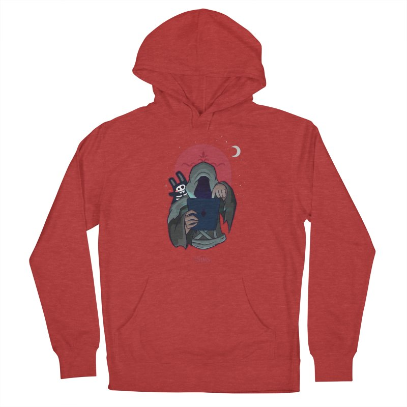Grim Reaper - Red Men's French Terry Pullover Hoody by The Sims Official Threadless Store