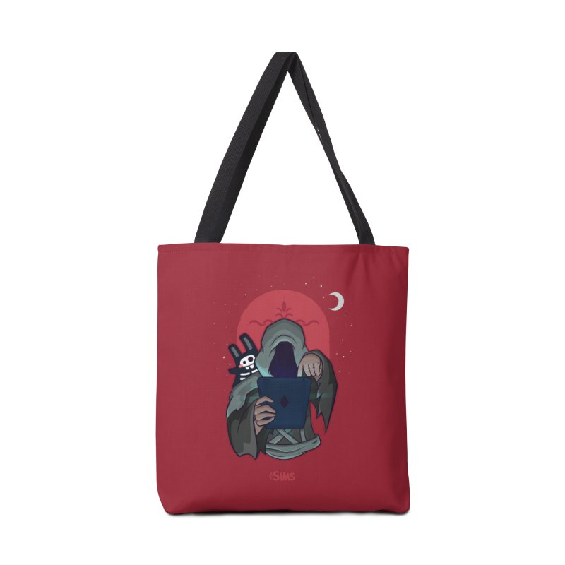 Grim Reaper - Red Accessories Tote Bag Bag by The Sims Official Threadless Store