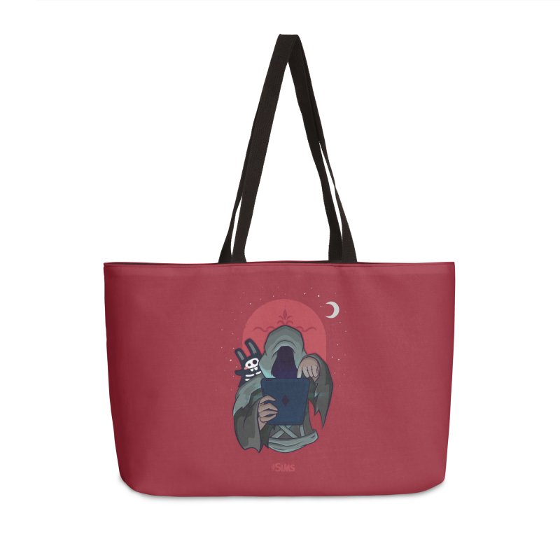 Grim Reaper - Red Accessories Weekender Bag Bag by The Sims Official Threadless Store