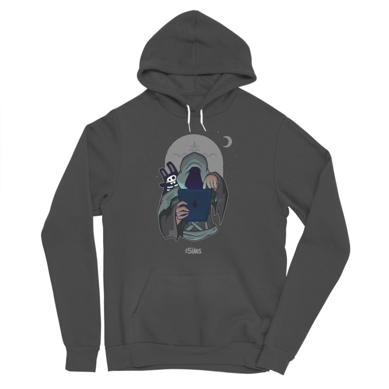 Grim Reaper - Grey Men's Sponge Fleece Pullover Hoody by The Sims Official Threadless Store