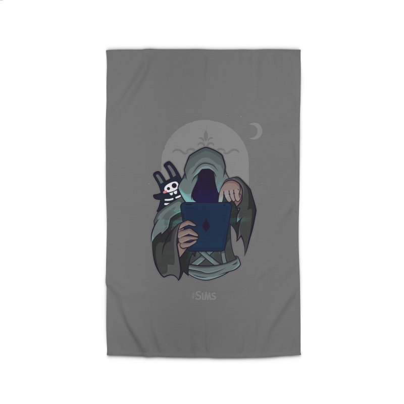 Grim Reaper - Grey Home Rug by The Sims Official Threadless Store