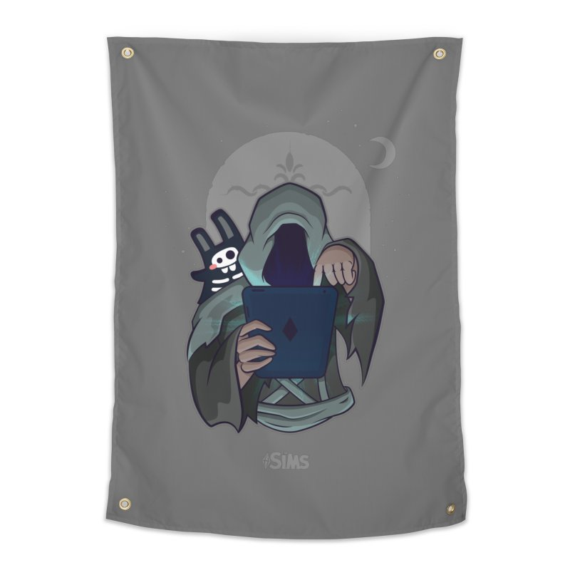 Grim Reaper - Grey Home Tapestry by The Sims Official Threadless Store