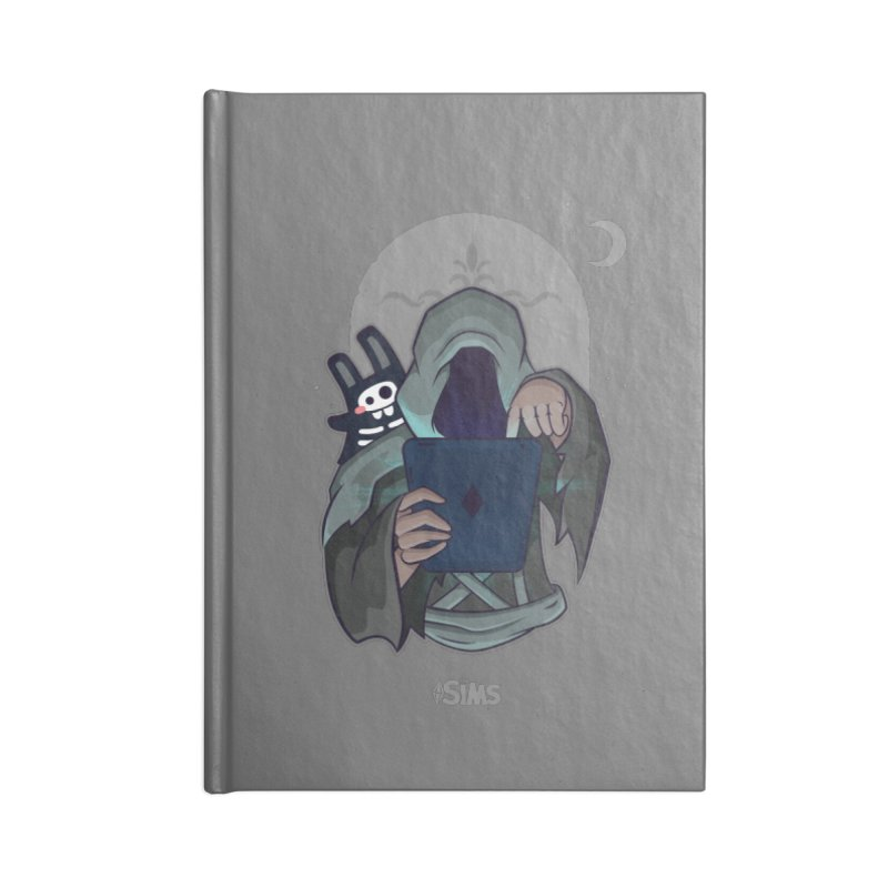 Grim Reaper - Grey Accessories Lined Journal Notebook by The Sims Official Threadless Store