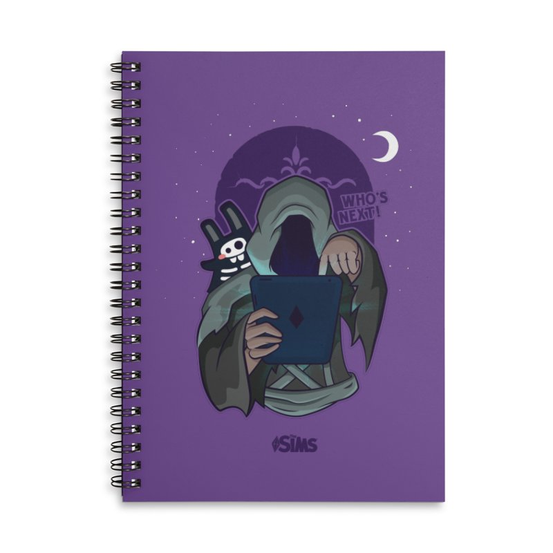 Who's next? Accessories Lined Spiral Notebook by The Sims Official Threadless Store