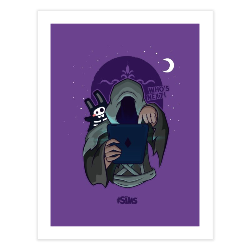 Who's next? Home Fine Art Print by The Sims Official Threadless Store