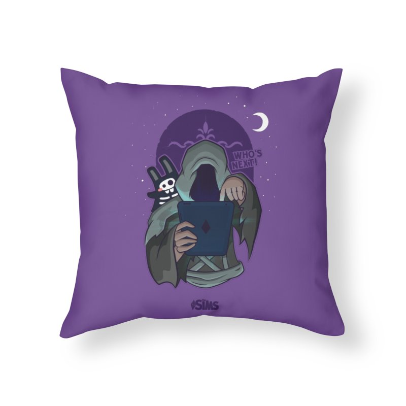 Who's next? Home Throw Pillow by The Sims Official Threadless Store