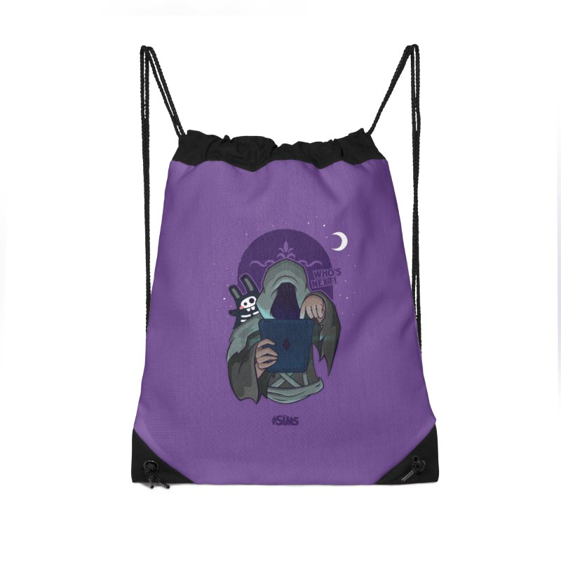 Who's next? Accessories Drawstring Bag Bag by The Sims Official Threadless Store