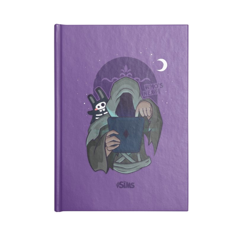 Who's next? Accessories Lined Journal Notebook by The Sims Official Threadless Store