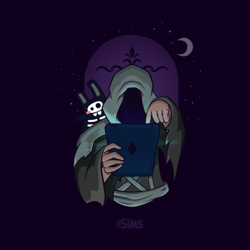 Grim Reaper - Purple by The Sims Official Threadless Store