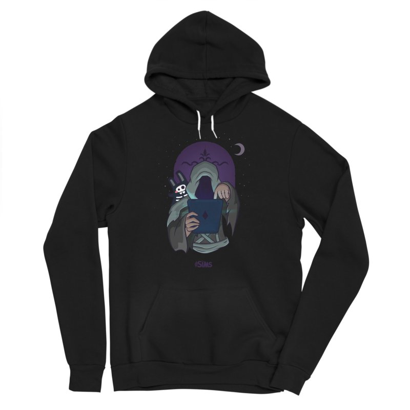 Grim Reaper - Purple Men's Sponge Fleece Pullover Hoody by The Sims Official Threadless Store