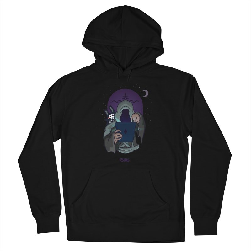 Grim Reaper - Purple Women's French Terry Pullover Hoody by The Sims Official Threadless Store