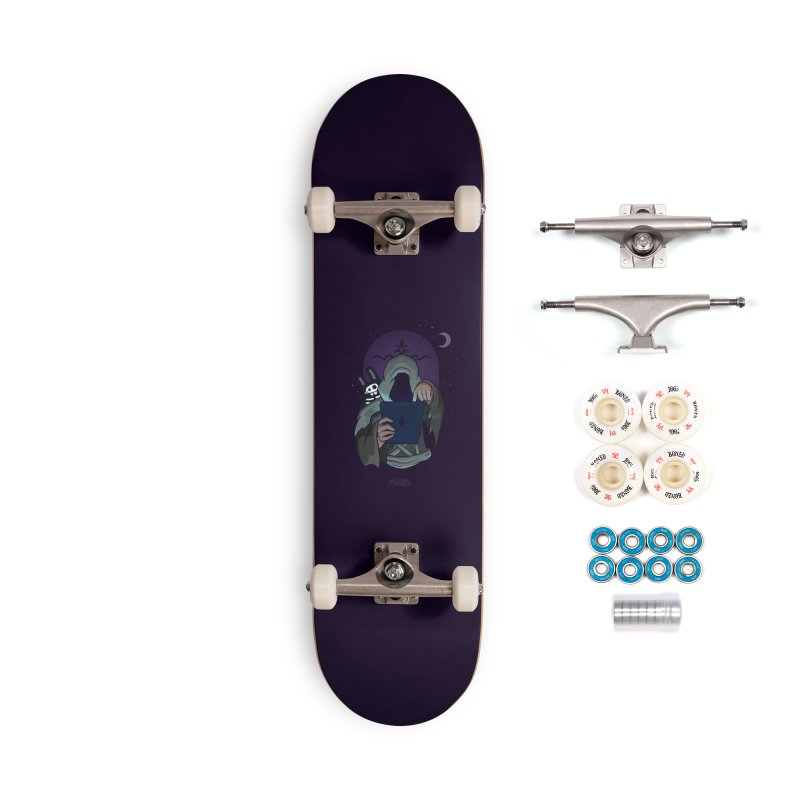 Grim Reaper - Purple Accessories Complete - Premium Skateboard by The Sims Official Threadless Store