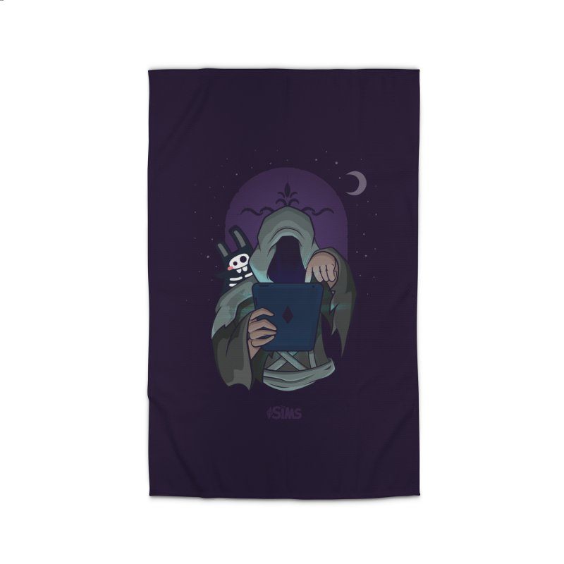 Grim Reaper - Purple Home Rug by The Sims Official Threadless Store