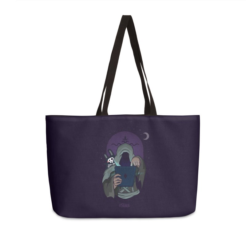 Grim Reaper - Purple Accessories Weekender Bag Bag by The Sims Official Threadless Store