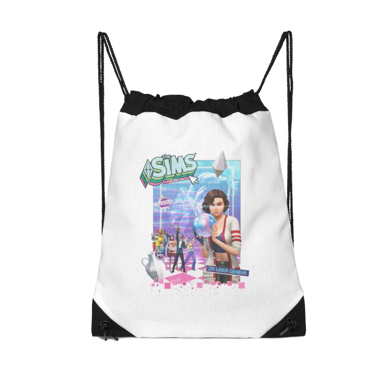 Precious Pixels Accessories Drawstring Bag Bag by The Sims Official Threadless Store