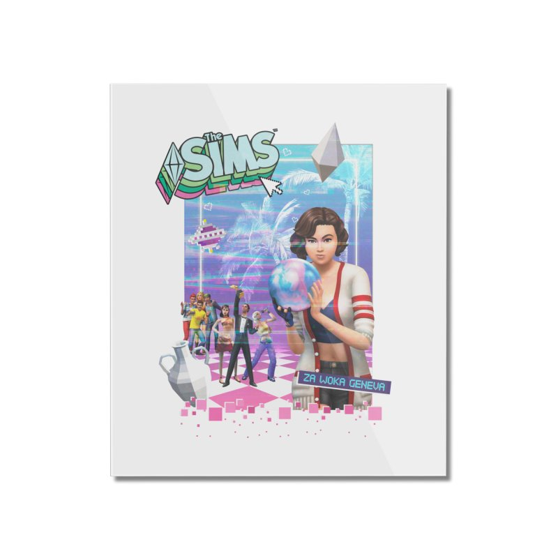 Precious Pixels Home Mounted Acrylic Print by The Sims Official Threadless Store
