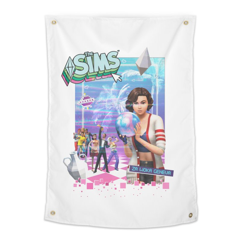 Precious Pixels Home Tapestry by The Sims Official Threadless Store