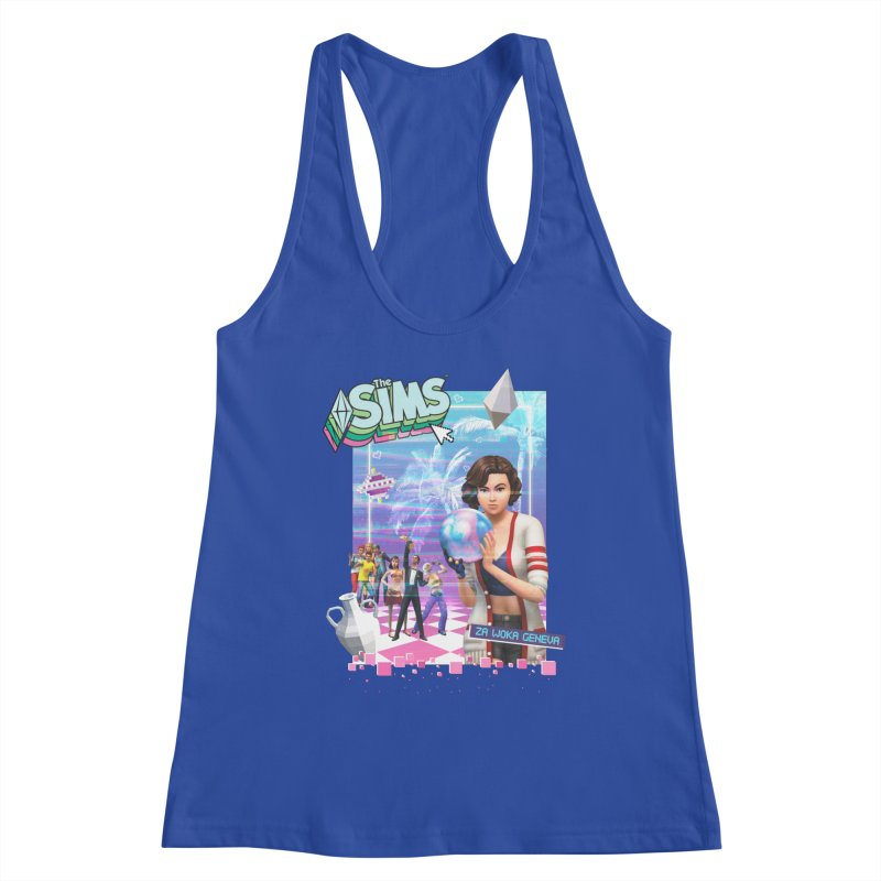 Precious Pixels Women's Racerback Tank by The Sims Official Threadless Store