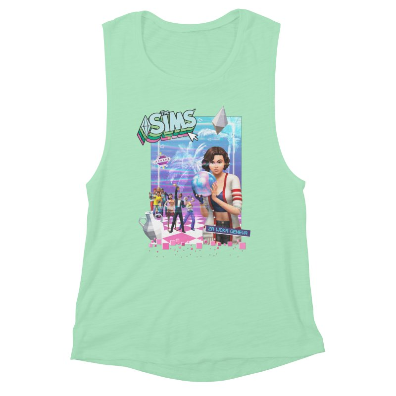 Precious Pixels Women's Muscle Tank by The Sims Official Threadless Store