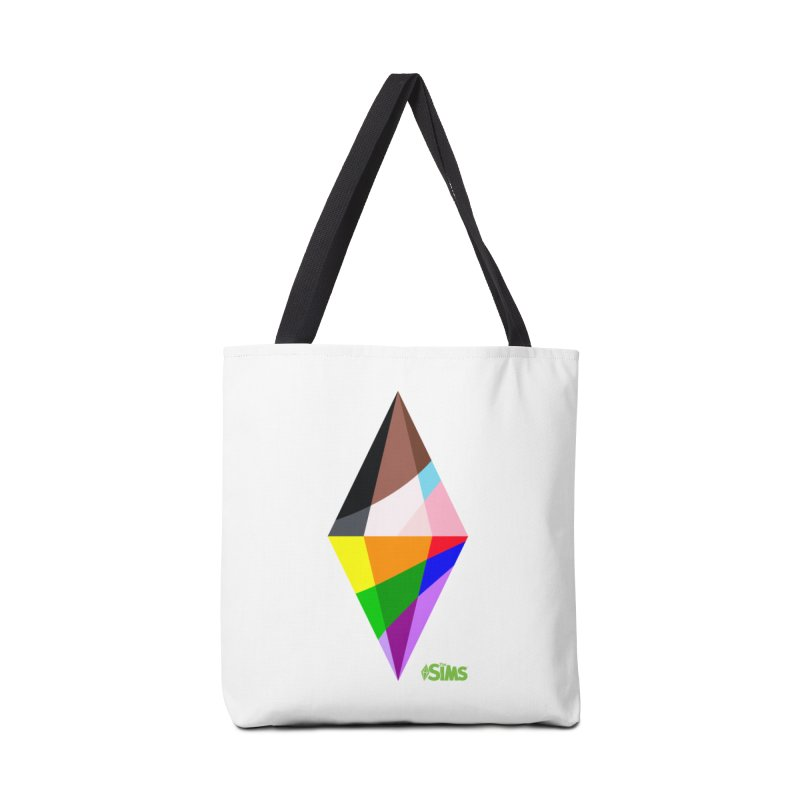 Pride Plumbob Accessories Bag by The Sims Official Threadless Store