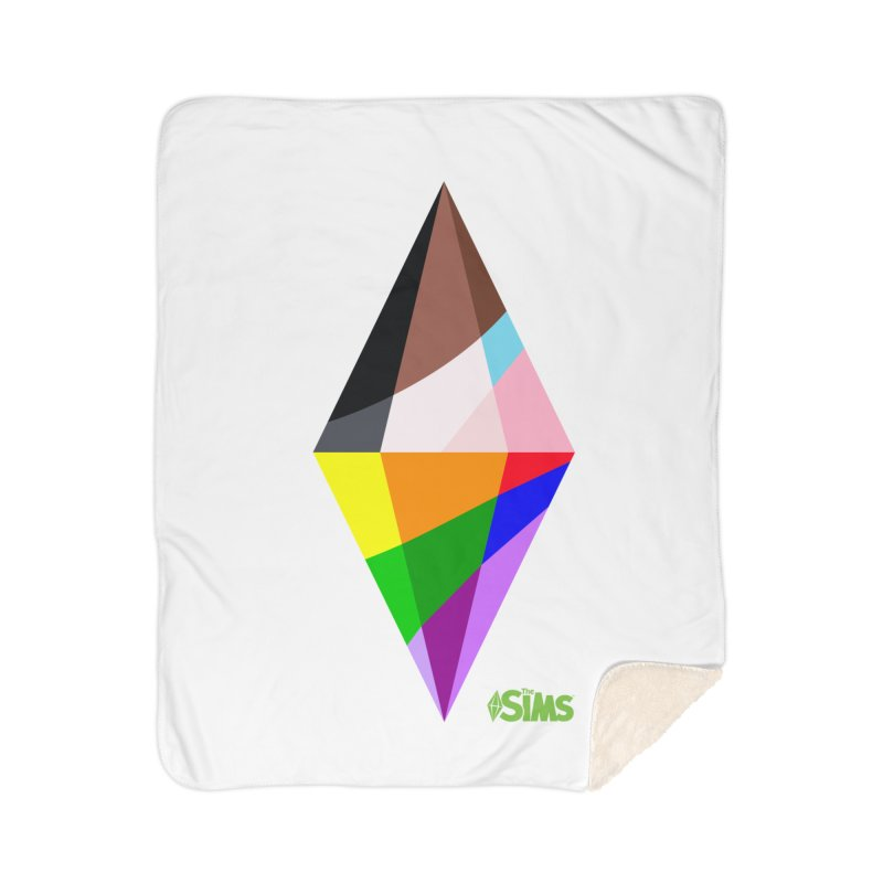 Pride Plumbob Home Blanket by The Sims Official Threadless Store