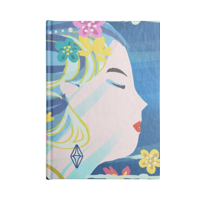 Wind in Her Hair Accessories Notebook by The Sims Official Threadless Store