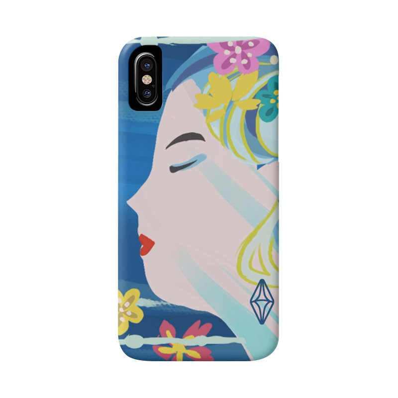 Wind in Her Hair Accessories Phone Case by The Sims Official Threadless Store