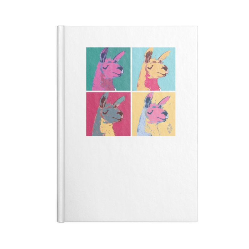 Pop Art Llama Accessories Notebook by The Sims Official Threadless Store