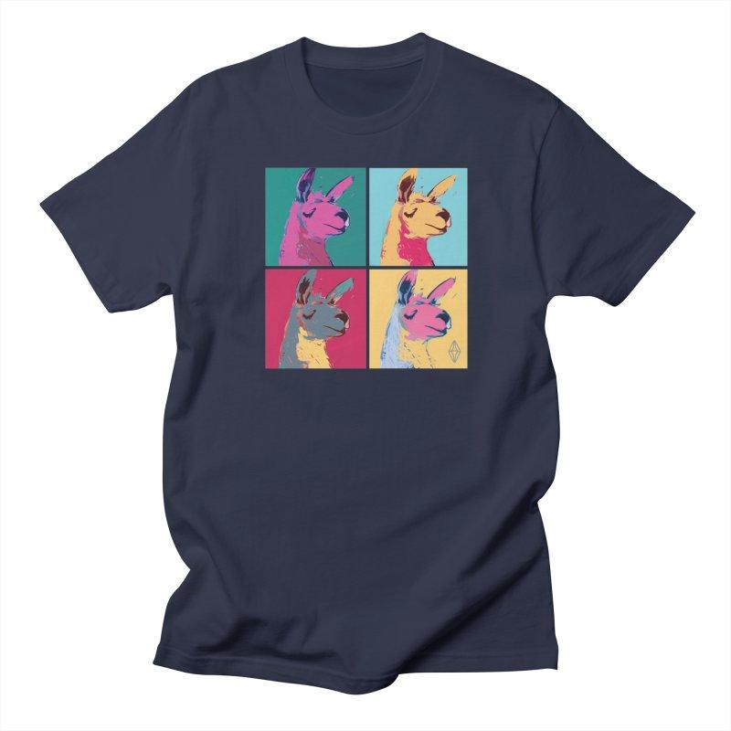 Pop Art Llama Men's T-shirt by The Sims Official Threadless Store