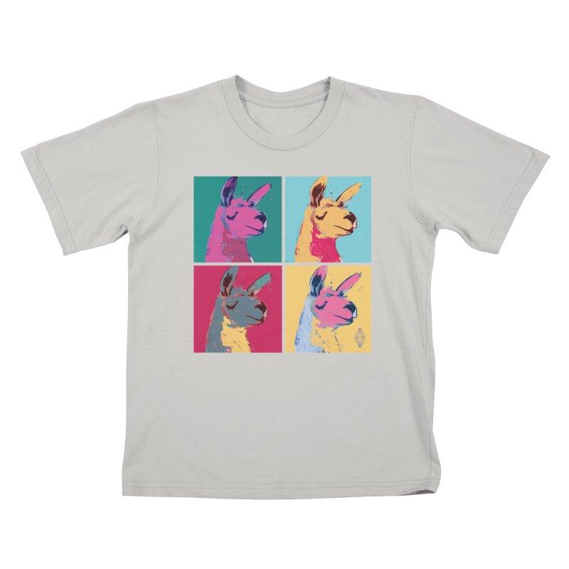 Pop Art Llama Kids T-Shirt by The Sims Official Threadless Store