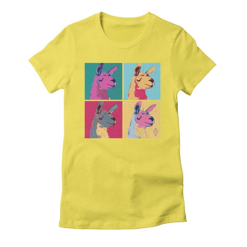 Pop Art Llama Women's T-Shirt by The Sims Official Threadless Store