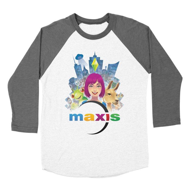 Maxis Studio Art Women's Baseball Triblend T-Shirt by The Sims Official Threadless Store