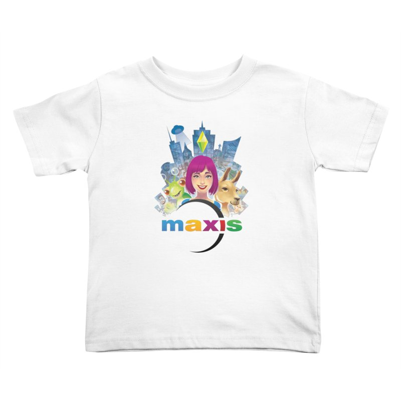 Maxis Studio Art Kids Toddler T-Shirt by The Sims Official Threadless Store