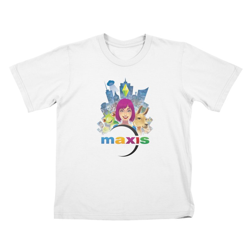 Maxis Studio Art Kids T-Shirt by The Sims Official Threadless Store