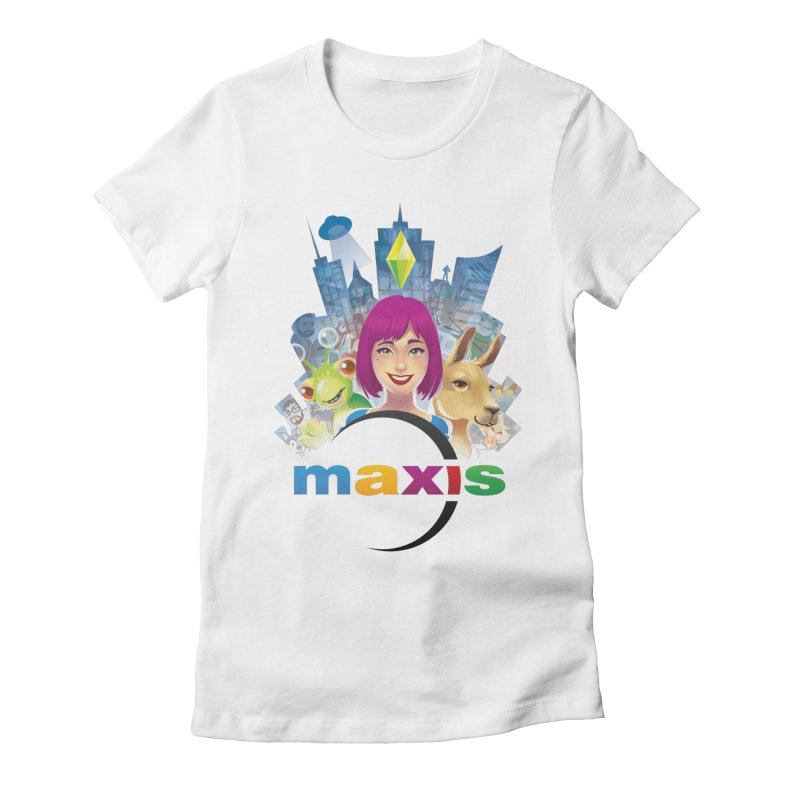 Maxis Studio Art Women's Fitted T-Shirt by The Sims Official Threadless Store