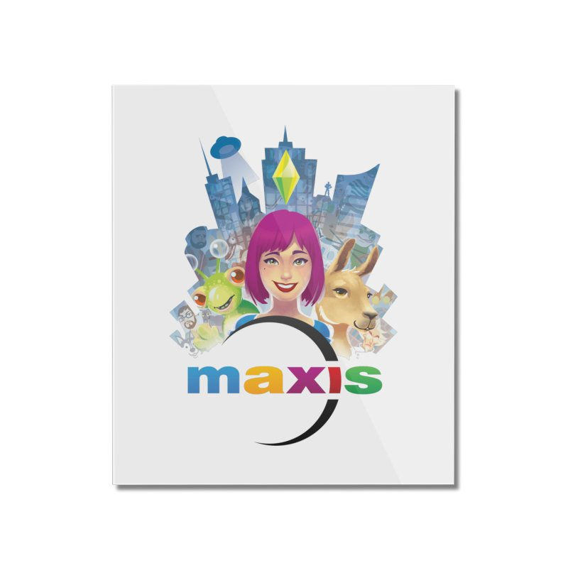 Maxis Studio Art Home Mounted Acrylic Print by The Sims Official Threadless Store