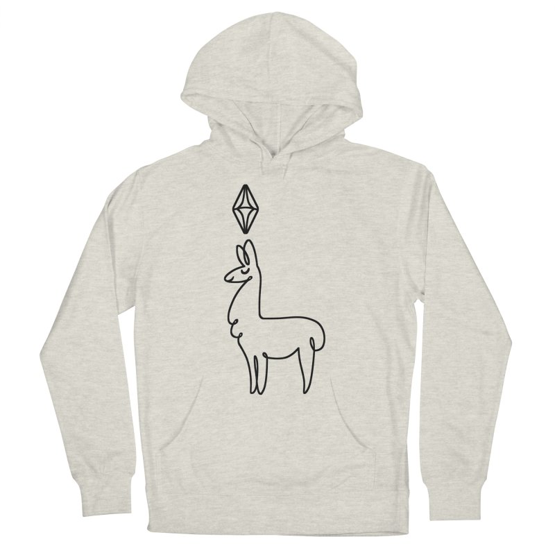 Lovely Llama Women's Pullover Hoody by The Sims Official Threadless Store