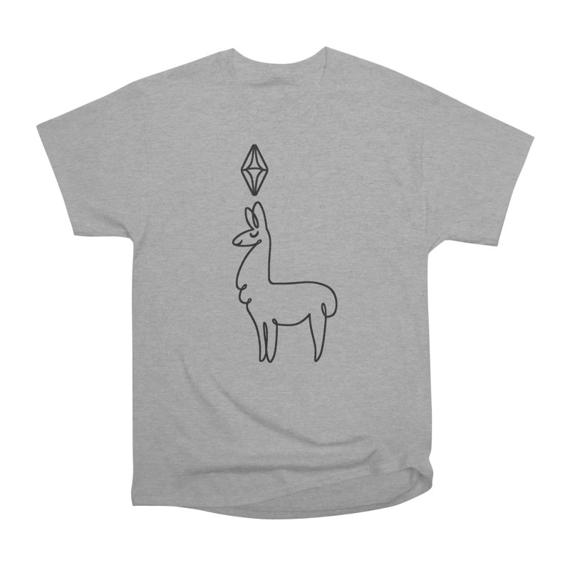 Lovely Llama Women's Classic Unisex T-Shirt by The Sims Official Threadless Store