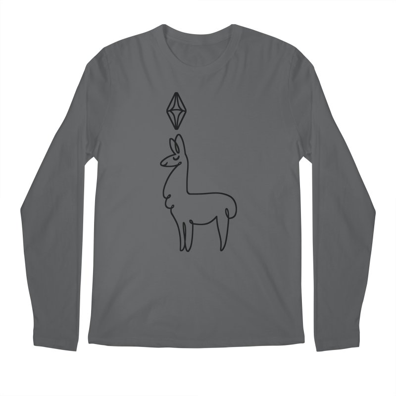 Lovely Llama Men's Longsleeve T-Shirt by The Sims Official Threadless Store