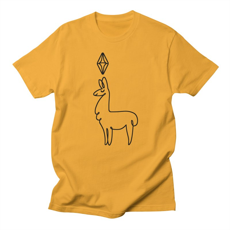 Lovely Llama Men's T-Shirt by The Sims Official Threadless Store