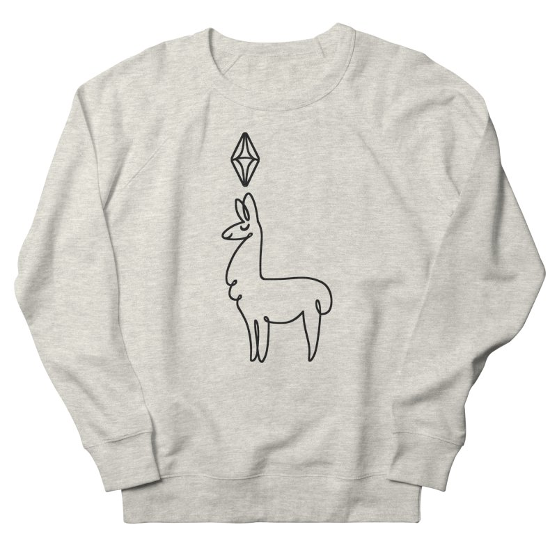 Lovely Llama Men's Sweatshirt by The Sims Official Threadless Store