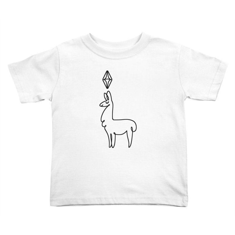 Lovely Llama Kids Toddler T-Shirt by The Sims Official Threadless Store
