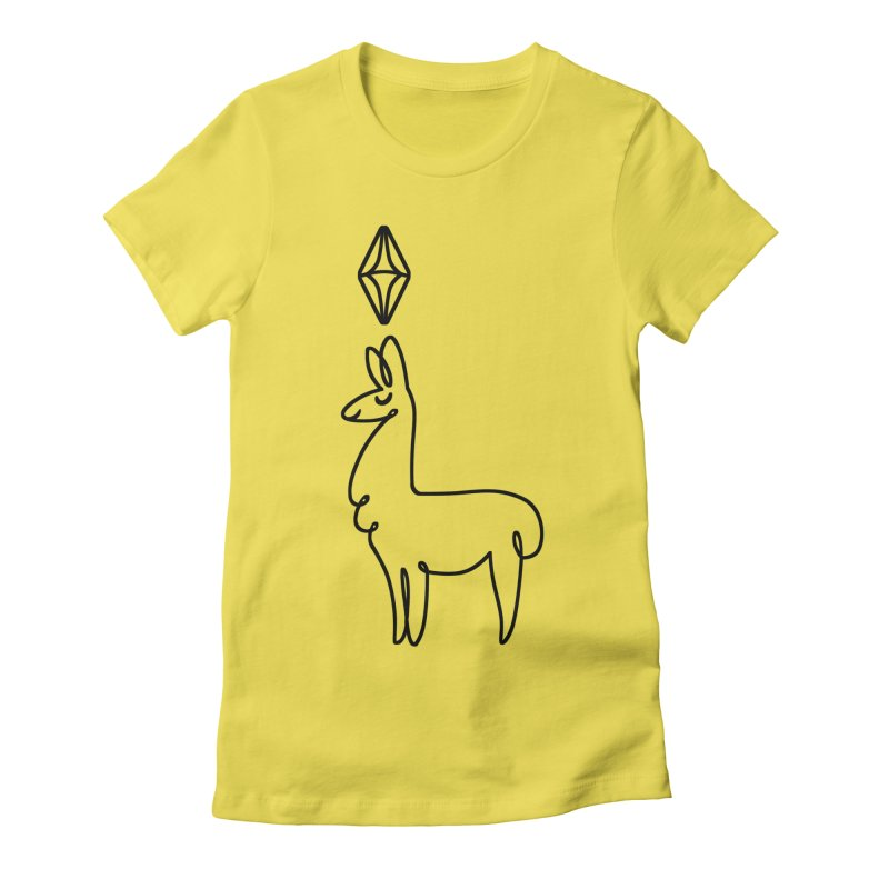 Lovely Llama Women's T-Shirt by The Sims Official Threadless Store