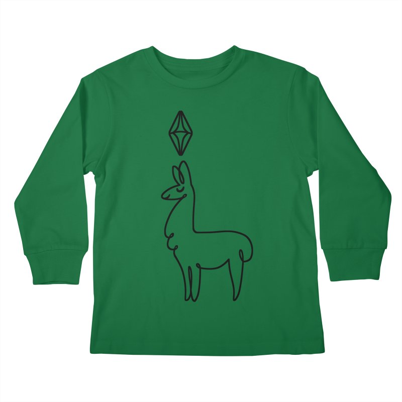 Llama Design On T Shirts For Toddlers